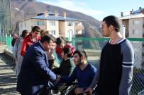 ARTVİN BELEDİYESİ - Artvin Basketbol Takımı, Engelli Öğrencilerle Bir Araya Geldi