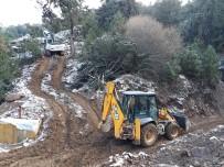 EFES - ASKİ'ye Dağ Taş, Kar Kış Engel Değil