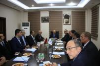 AHMET ODABAŞ - Başbakan Yardımcısı Fikri Işık, Mardin'de Organize Sanayi Bölgesini Ziyaret Etti