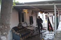 ELEKTRİK KAÇAĞI - Bayramiç'te Ev Yangını