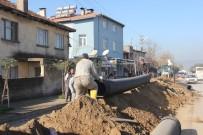 Burhaniye'ye 3 Yılda 5 Bin 60 Metre Yağmur Suyu Hattı Yapıldı