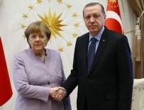 ANGELA MERKEL - Cumhurbaşkanı Erdoğan, Merkel ile görüştü