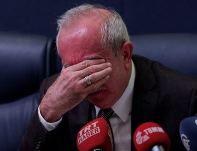AK Partili vekil gözyaşlarına boğuldu