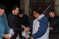 Erzincan AK Parti Gençlik Kolları'ndan Ahıska Türklerine Kandil Simidi
