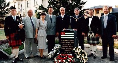 İskoçya Abhazya anıtını kaldırdı, diplomatik kriz çıktı