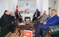 YENI AKIT GAZETESI - Karahasanoğlu Başkan Gürkan'ı Ziyaret Etti