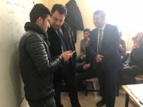 MEHMET ÖZCAN - Kaymakam Özcan'dan Şehit Ailelerine Ve Öğrencilere Ziyaret