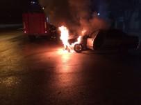 YANGIN TÜPÜ - Otomobil Alev Alev Yandı