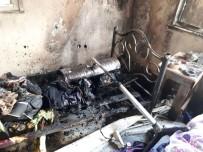 KAYTAZDERE - Tersane İşçilerinin Kaldığı Evde Yangın Çıktı