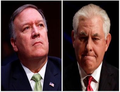 Tillerson yerine CIA Direktörü'nün adı geçiyor