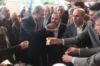 MEHMET ŞÜKRÜ ERDİNÇ - CHP'li Başkan Çetin, AK Parti Milletvekili Dağlı'yı Balla Besledi