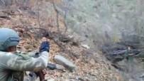 AĞRI KESİCİ - Gri Listede Bulunan Yaralı Teröriste İlk Müdahale Mehmetçik'ten