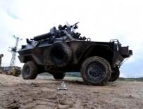 ŞEHİT ASKER - Hakkari'de askeri araç kaza yaptı: 1 şehit
