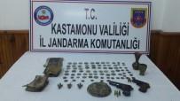 KAÇAK KAZI - Kaçak Kazı Operasyonunda 7 Kişi Gözaltına Alındı