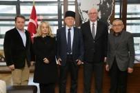 KıRıM - Kırım Tatar Milli Meclisi Türkiye Temsilcisi Zafer Karatay'dan Başkan Kurt'a Ziyaret
