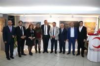 TÜRKAN SAYLAN - Kızılay'a Destek Sergisi Konak'ta Açıldı