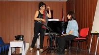 ORKESTRA ŞEFİ - Opera Sanatçısı Annie Vavrille, MEÜ Öğrencilerine Şan Masterclass Eğitimi Verdi
