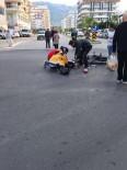 ALAADDIN KEYKUBAT - Otomobille Motosiklet Çarpıştı Açıklaması1 Ağır Yaralı
