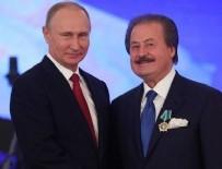 VLADIMIR PUTIN - Putin'den Cavit Çağlar'a dostluk nişanı!