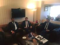 PLAN VE BÜTÇE KOMİSYONU - TURKAB Genel Başkanı Arslan'dan AB Bakan Yardımcısı Şahin'e Ziyaret