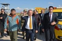 SİİRT VALİSİ - Vali Atik, Siirt Havaalanında İncelemede Bulundu