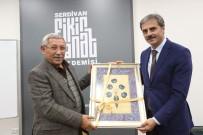 YUSUF ALEMDAR - Başkan Alemdar Fikir Sanat Akademisi'ne Misafir Oldu