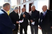 MUSTAFA TUNA - Başkan Tuna İstişarelere Devam Ediyor