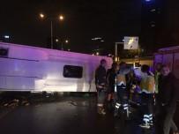 E5 KARAYOLU - İstanbul'da Feci Kaza Açıklaması 2 Ölü, 18 Yaralı