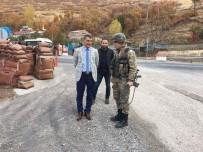 JANDARMA KARAKOLU - Kaymakam Özkan'dan Güvenlik Güçlerine Ziyaret
