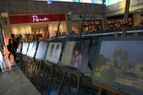 Kızıltepe'de 'Sanat Engel Tanımaz' Sergisi Açıldı