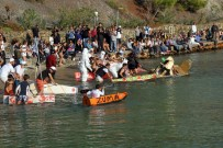 GÖCEK - Kontrplaktan Yapılan Tekneler Yarıştı