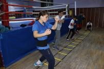 KADIN SPORCU - Milli Sporcular, Dünya Şampiyonası'na Hazırlanıyor