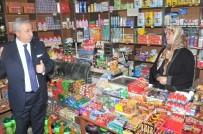 KÜÇÜK ESNAF - Palandöken Açıklaması 'Küçük Esnafın Para Kazanacağı Saatte Yasak Başlıyor'