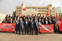 GAZİLER DERNEĞİ - Şehit Aileleri Ve Gaziler Çanakkale'ye Uğurlandı
