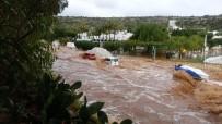 MUSTAFA ÇETIN - Silifke'de Yağmur Hayatı Felç Etti