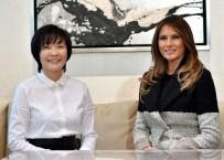 MARİLYN MONROE - Trump Ve Abe Golf Oynadı, Eşleri İnci Alışverişi Yaptı