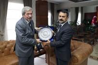 İLHAMI AKTAŞ - Arjantin Büyükelçisi Tettamanti, Vali Aktaş'ı Ziyaret Etti