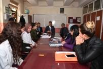 ÇEVRE TEMİZLİĞİ - Başkan Asya'dan Okul Ziyareti