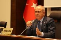 MÜZAKERE - Belediye Meclisinden Başkan Akgün'e Takdir