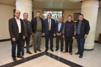 DEVE GÜREŞİ - Bozyurt Deve Güreşi Komitesinden Başkan Alıcık'a Ziyaret
