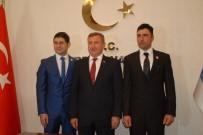 Burdur'da Gazilere Gazilik Rozetleri Takıldı