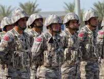 NURETTİN CANİKLİ - Canikli'den Katar'daki Türk birliğine ziyaret