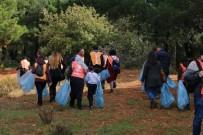 YEDITEPE ÜNIVERSITESI - 'Doğa İçin Pedal Çevir' Projesi Kapsamında Aydos Ormanı Temizlendi