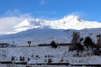 ERCIYES - Kar Yurda Giriş Yaptı