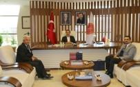 KÖK HÜCRE - Kızılay Kan Merkezi İç Anadolu Bölge Müdürü Tatar, Rektör Bağlı'yı Ziyaret Etti