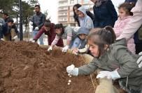 LALE SOĞANI - Özel Öğrenciler Lale Soğanlarını Toprakla Buluşturdu