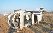 MIYASE - Takla Atan Otomobilin Sürücüsü Öldü, Arkadaşı Ağır Yaralandı