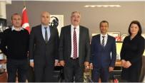 ÇAĞRI MERKEZİ - TREPAŞ Yöneticileri, Lüleburgaz Belediye Başkanı Halabak İle Görüştü