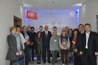 LITVANYA - Yabancı Öğretmenlerden Milli Eğitim Müdürü Elmalı'ya Ziyaret
