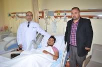 DAMAR TIKANIKLIĞI - AEÜ'de 'Damardan Pıhtı Çıkarma' Ameliyatı Yapıldı